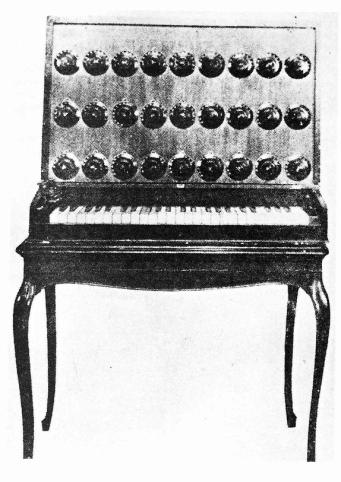 Lev Sergeyevich Termen - Theremin Harmonium